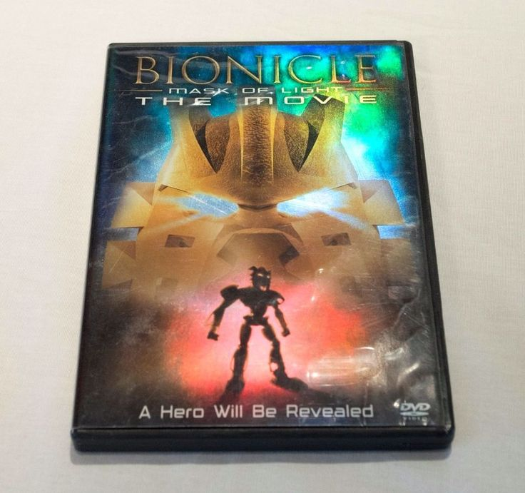 Bionicle Mask Of Light The Movie DVD Complete w Disc Case and Insert