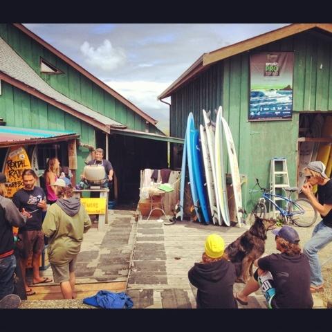 Long Beach Surf Shop in Tofino