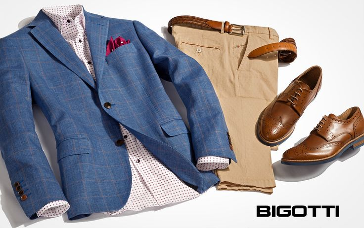 This #easygoing #light #Bigotti #blazer is the #perfect #piece to #achieve a #remarkable #look
