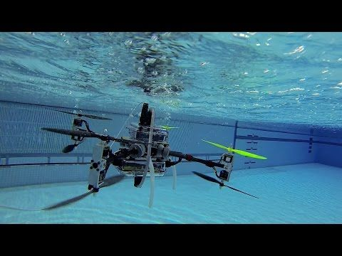 The Naviator Drone Can Fly In The Air And Swim Underwater : FUTURE TECH : Tech Times