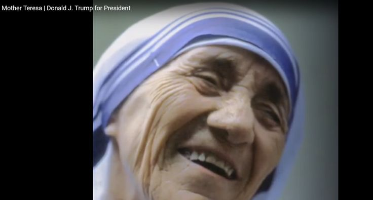 Donald Trump Releases a Video Tribute to Mother Teresa
