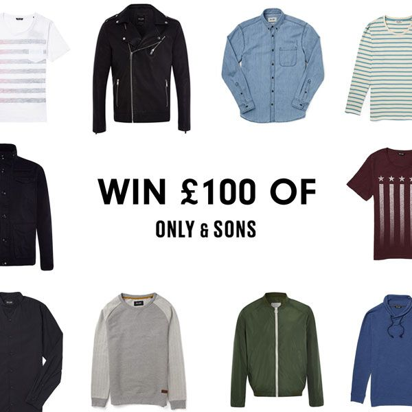 Win £100 Of Only & Sons Clothing with THE IDLE MAN