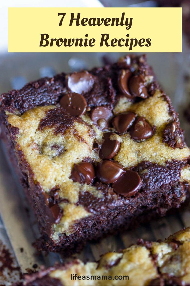 Gooey, crunchy, fudgy and soft, there's nothing like a fresh brownie to satisfy your sweet tooth. You'll love these simply heavenly recipes.