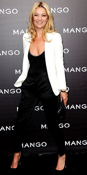 We love Kate Moss' effortless style. This look would be perfect for drinks with the girls, Lambrini cider of course!