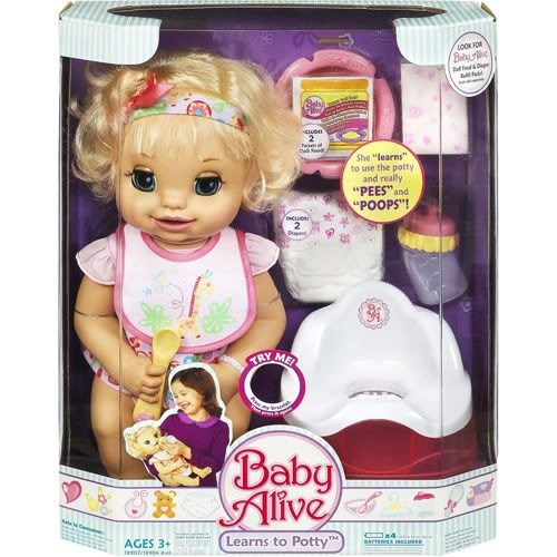 One Day Giveaway! Ends at 10pm Tonight!! ((OK folks, last giveaway from the holidays. I promise!)) Baby Alive. Well that brings back some memories. I had one of the original Baby Alive dolls-I won't mention when that was. It is so funny sometimes to see today's kids enjoying the same toys I did. But then... Keep Reading…