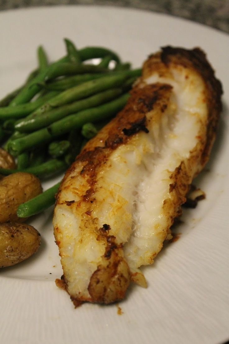 Simple. Quick. Delicious.     <Preheat oven to 475>   You will need:  2 Monkfish fillets (around 1/2 pound each)  Paprika  Dijon mustard...