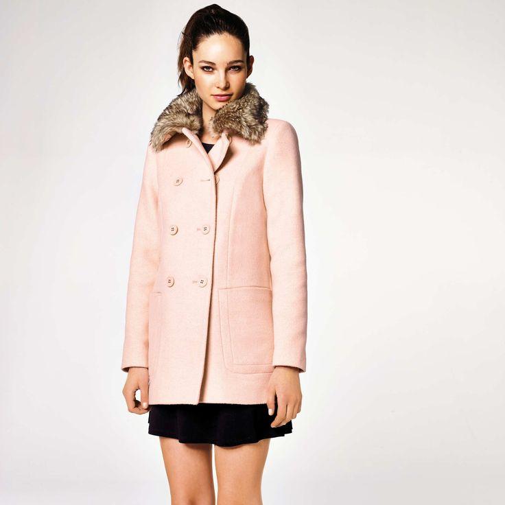 Manteau fourrure femme kiabi
