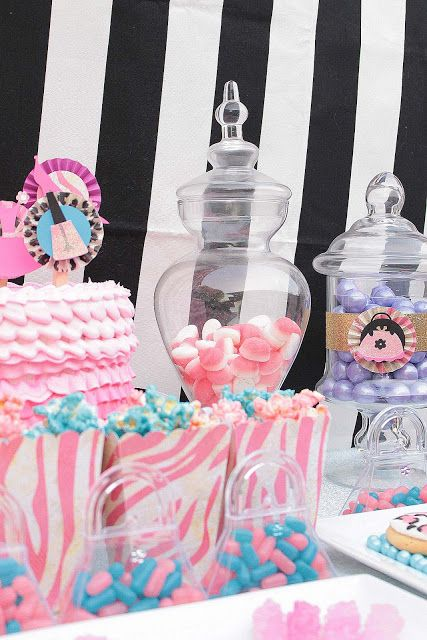 Cupcake Wishes & Birthday Dreams: Fashionista Dress Up Party Dessert Table