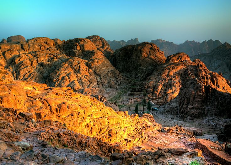 Sinai light painted