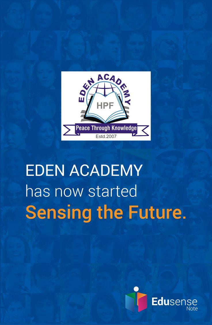 Eden Academy is experiencing the future with Edusense Note #EdusenseNote