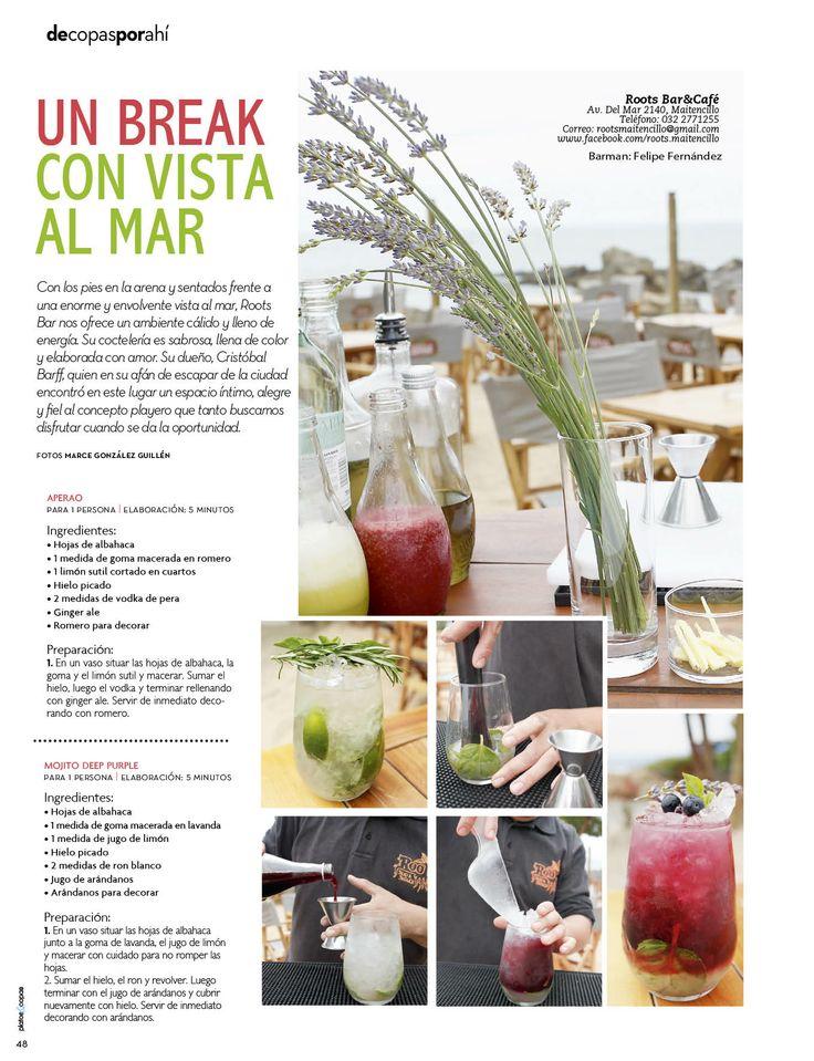 Revista Platos&Copas // De copas por ahí: Un break con vista al mar