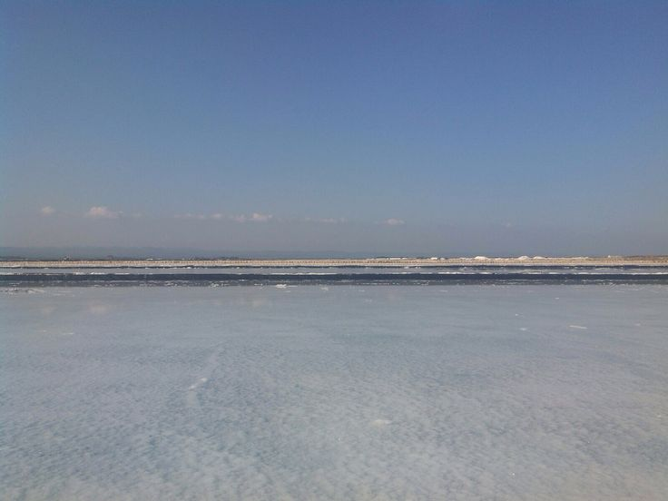 salt farm , madura , Indonesia.  afternoon