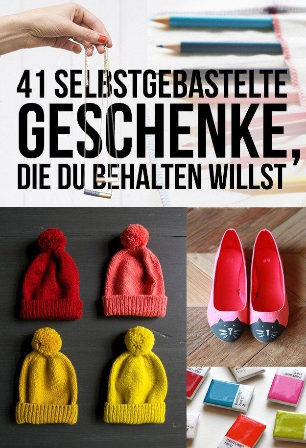 41 selbstgebastelte geschenke die du am liebsten behalten. Black Bedroom Furniture Sets. Home Design Ideas
