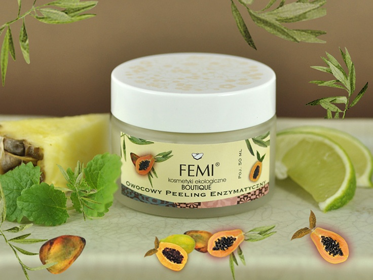 Enzymatic fruit peel is designed for the most sensitive and dry skin. It cleanses the skin with the help of enzymes from papaya and pineapple that are able to absorb cornified cells. This peeling is very mild and pleasant in use. It also includes a cleansing and moisturizing extract from liquorice. The skin after such treatment is brightened, smoothed and refreshed as after a wonderful rejuvenating therapy.