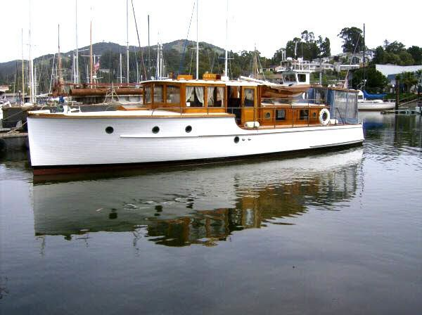 45' Stephens Tri Cabin  •Year: 1928   •Current Price: US$ 79,000    •Located In San Rafael, CA   •Hull Material: Wood   •Engine/Fuel Type: Twin Gas/Petrol   •YW# 75382-2172233