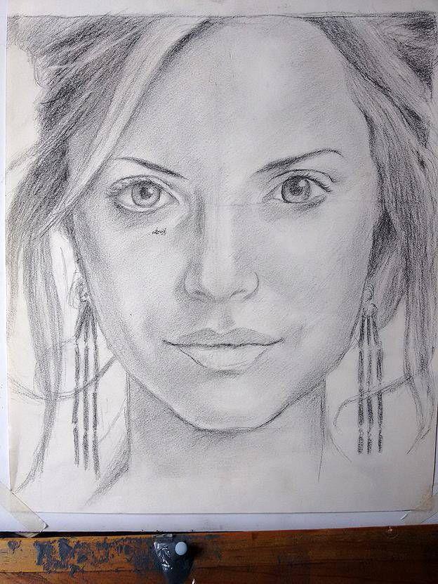 como dibujar una nariz de mujer