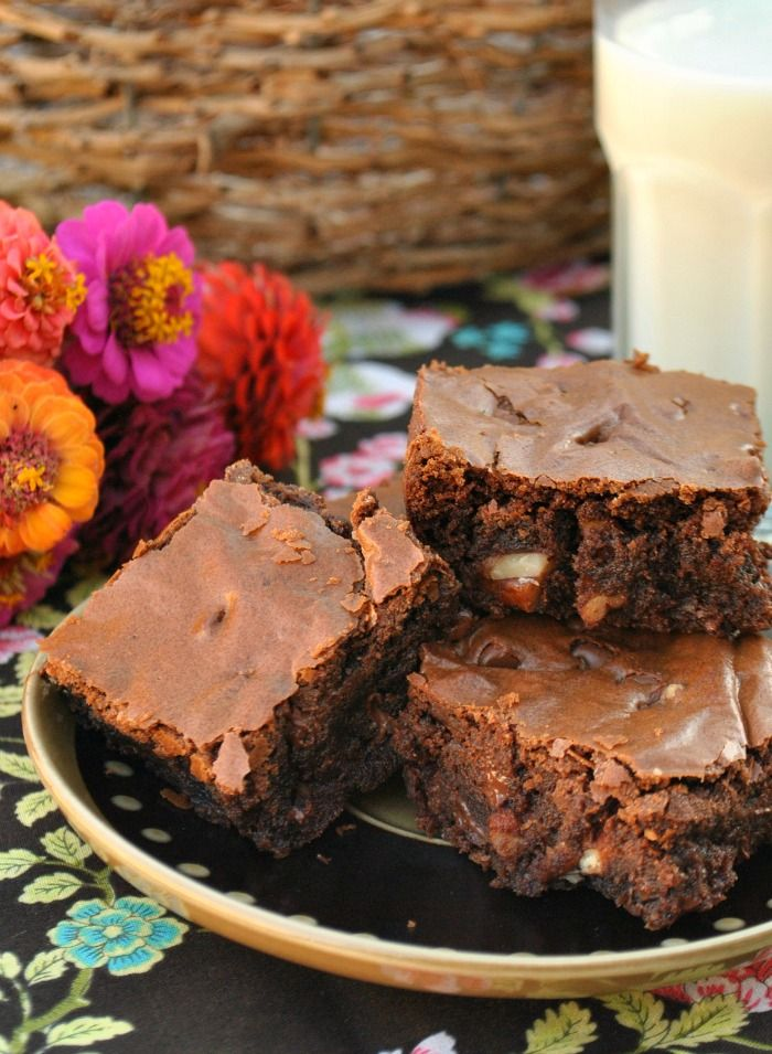 Chocolate Lovers Fudge Brownies from @Suzanne | You ...