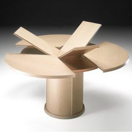 17 meilleures id es propos de table ronde avec rallonge - Table sejour ronde avec rallonge ...