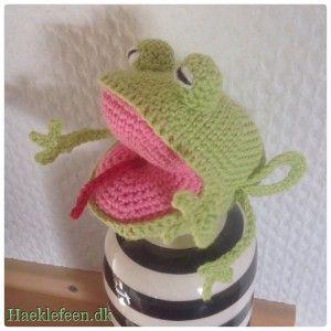 Mm add sagde en lille grøn frø