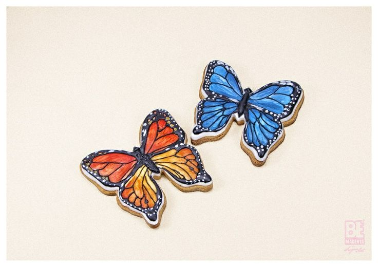 My butterfly in Sugar paste