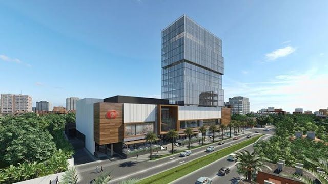 Downtown Center: el próximo centro comercial de Santo Domingo #santodomingo #dominicanrepublic #caribbean #project #architecture #construction #mall #plaza