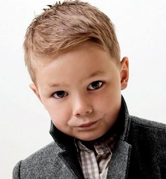 Little Boy Haircuts Side Swept 2017