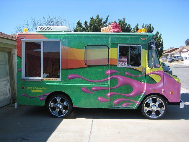 Tricked Out Semi Trucks | Pimped Out Ice Cream Truck | Flickr   Photo  Sharing!