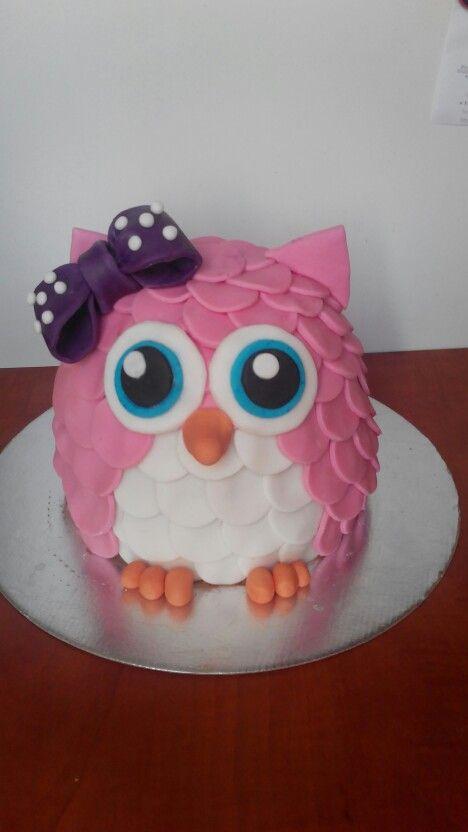 Cake owl