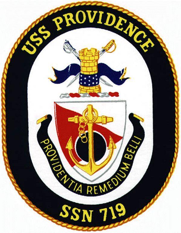 USS Providence (SSN 719) Ship Crest