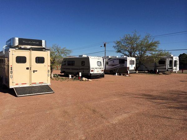 Desert Willow RV Park In Van Horn Texas