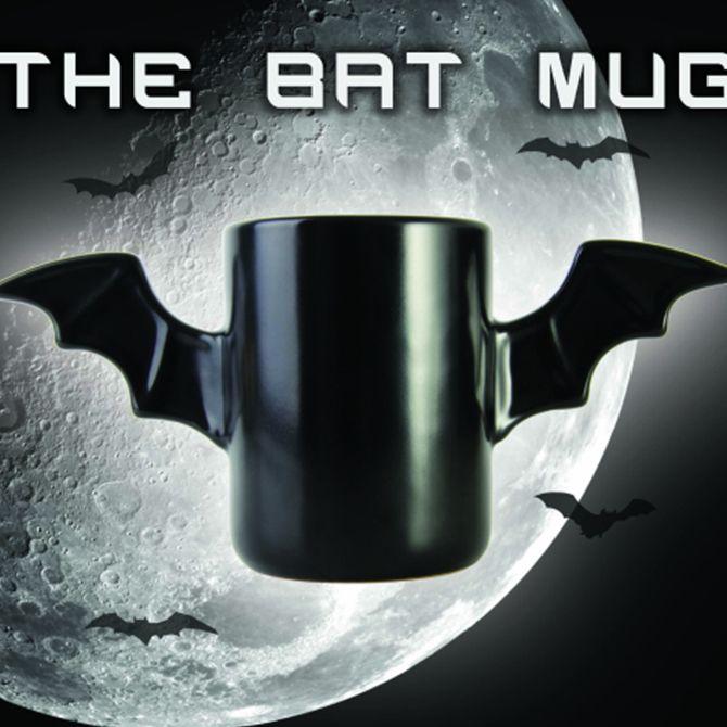 Taza mug murciélago