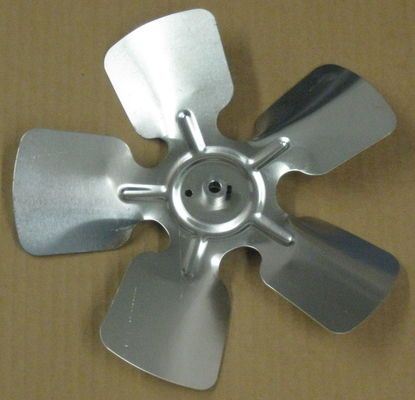 "A65133 Metal Fan Blade 10"""" Diameter 5 Blades 5/16"""" Bore Hub CCW 20 Degree Prop"