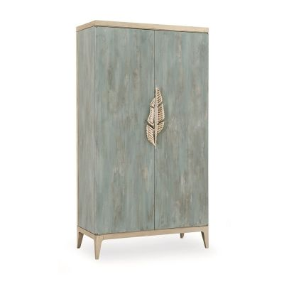 Caracole CLA-416-053 Caracole Classic Watercolours Armoire available at Hickory Park Furniture Galleries