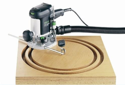The Trammel Unit for the Festool OF 1010 Router permits you to rout precise circles and ornamental curves from 6-1/32 inches up to 29-7/8 inches in diameter. Anchored within the center with the enclosed trammel purpose, and attaches merely and firmly to the router mistreatment thumbscrews.