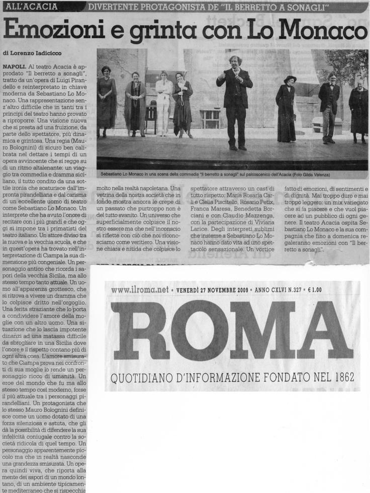 27 novembre 2009 - Roma -
