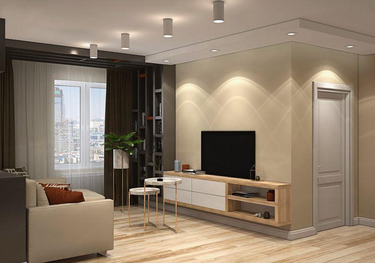 Трехкомнатная стильная квартира в ЖК Черемушки 2 (54 м.кв) для молодой и активной девушки. В интерьере использовали натуральные оттенки и текстуры, особенно акцент сделали на дерево, которое придает уют и теплоту!