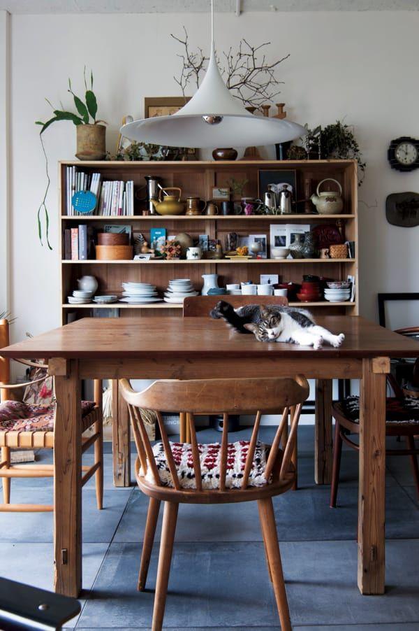 わが家でも真似したい 猫が楽しいdiy インテリア クロワッサン オンライン インテリア 模様替え 家具