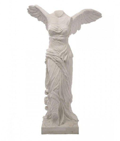 Big Figurine Winged Victory Stone