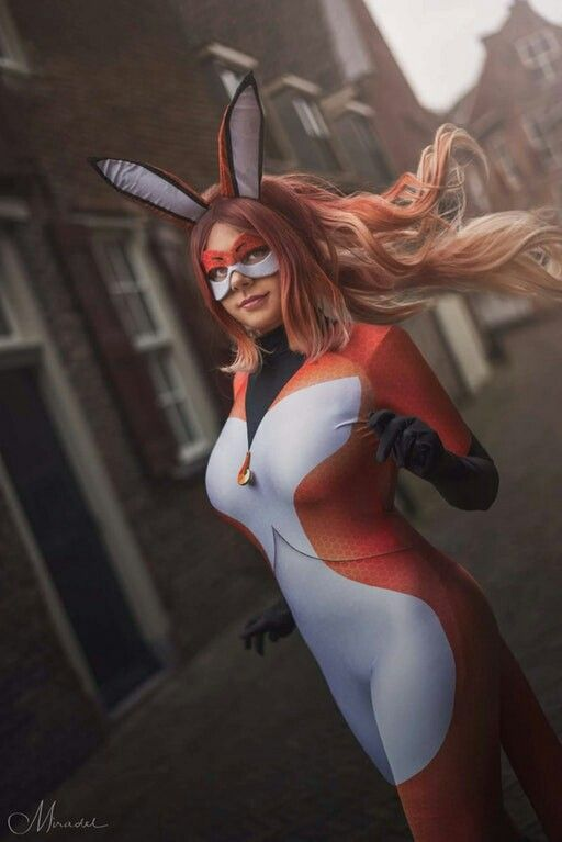 Cosplay Of Rena Rouge Alya Cesaire From The Miraculous