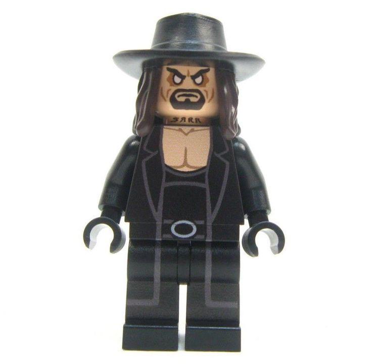 Lego custom WWE - - - THE UNDERTAKER - - - - hulk rocky rambo wrestler wwf #LEGO