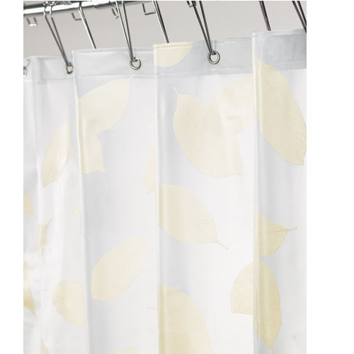Harvest Leaf Shower Curtain Vinyl Waterproof Shower