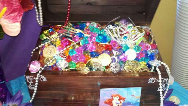 Little Mermaid Birthday Party Ariel S Treasure Chest