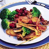 Recept - Varkensfilet met cranberrysaus - Allerhande