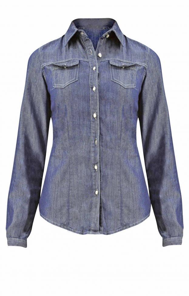 Γυναικείο πουκάμισο denim | Γυναίκα - Jeans & Demims - Πουκάμισα