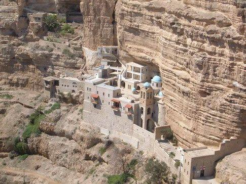 Παναγία Ιεροσολυμίτισσα: Ιερά Μονή Αγίου Γεωργίου του Χοζεβίτου - Ισραήλ