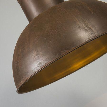 Lampa wisząca Rust XL rdza #stylskandynawski #nowoczesnelampy #lampyindustrialne