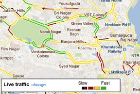 Google Maps Navigation And Live Traffic Data Come To India