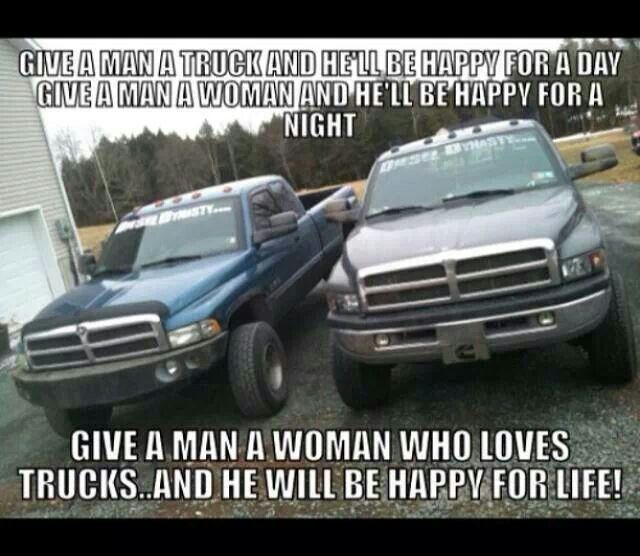 A Woman Who Loves Trucks Will Make You Happy For The Rest