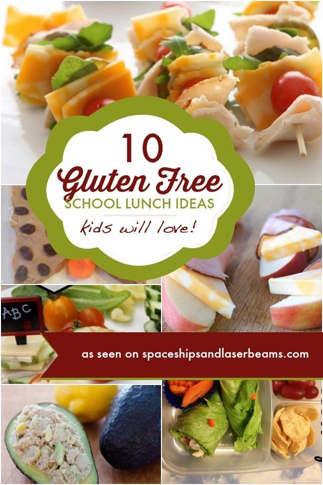 10 Gluten Free School Lunch Ideas - Spaceships and Laser Beams
