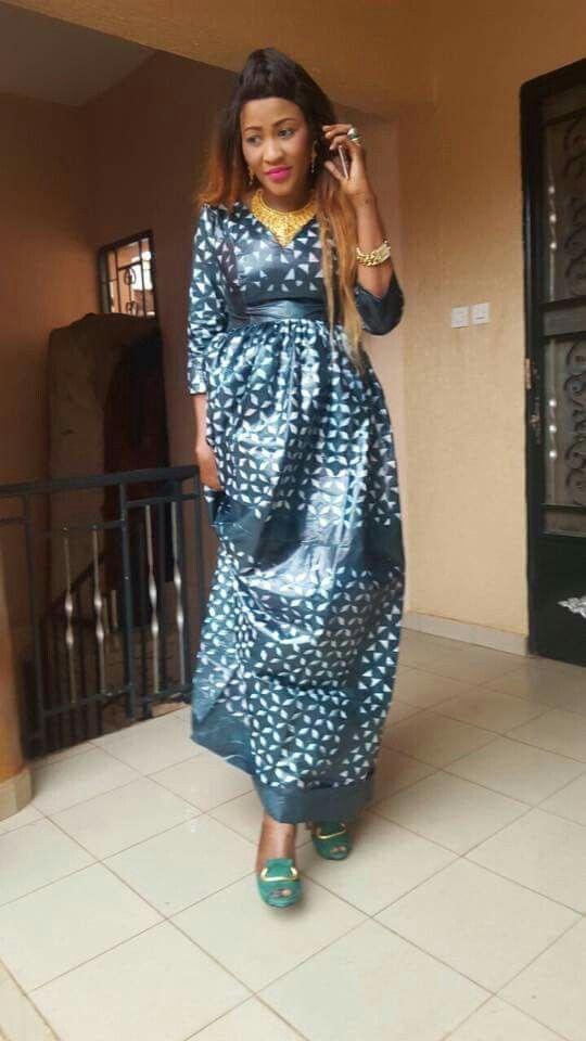 Modele De Robe Africaine En Bazin